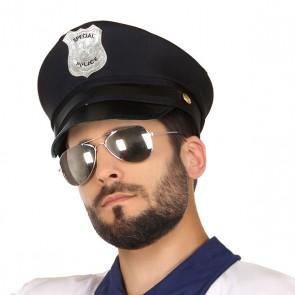 Cappello Poliziotto Nero 117699