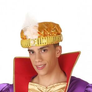Cappello Re magio Dorato 110385