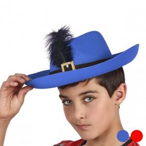 Cappello Moschettiere Piuma 110606