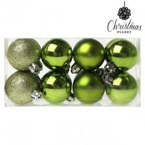 Palle di Natale Christmas Planet 6479 4 cm (16 uds) Verde