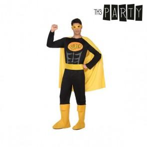 Costume per Adulti Th3 Party Supereroe Nero