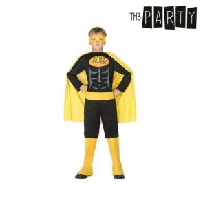 Costume per Bambini Th3 Party Supereroe Nero