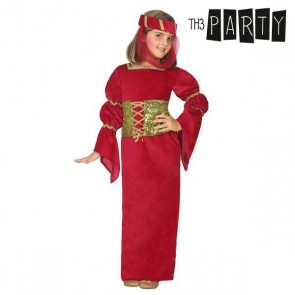 Costume per Bambini Dama medievale Rosso