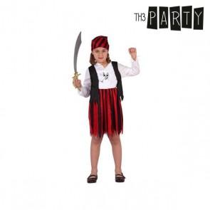 Costume per Bambini Pirata Rosso