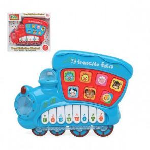 Piano Interattivo per Bambini 110822 Treno musicale