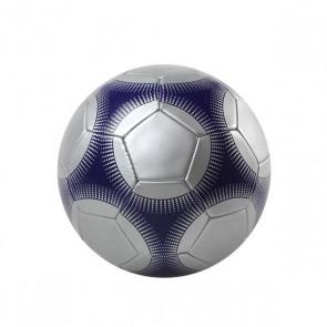 Pallone da Calcio 113054 Argentato Azzurro