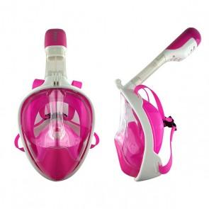 Maschera da Snorkel con Supporto per Fotocamera Sportiva Silicone