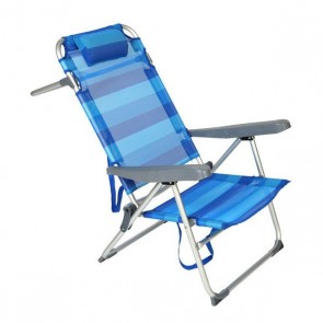 Sedia Pieghevole 117502 Azzurro