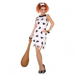 Costume per Adulti Cavernicolo Bianco (1 Pc)