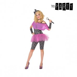 Costume per Adulti Pop star Rosa (3 Pcs)