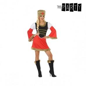 Costume per Adulti Russa Rosso (2 Pcs)