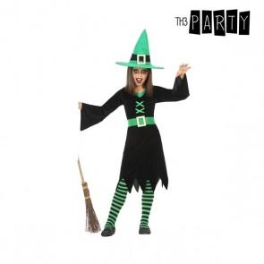 Costume per Bambini Strega Verde (3 Pcs)