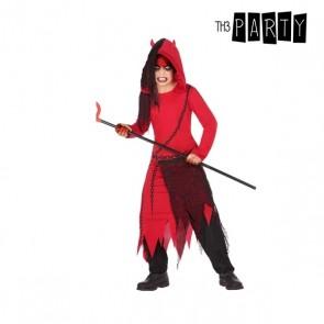 Costume per Bambini Demonio Rosso Nero (4 Pcs)