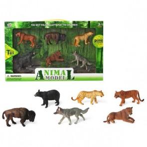 Set 6 Animali Selvaggi Giungla