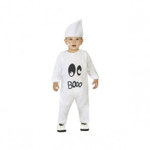 Costume per Neonati Fantasma Bianco (2 Pcs)