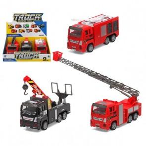 Set di Mini Camion Emergency (3 Pcs)