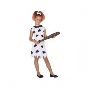Costume per Bambini Cavernicolo Bianco (1 Pc)