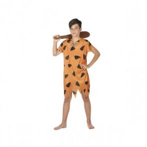 Costume per Bambini Cavernicolo Arancio (1 Pc)