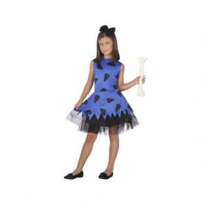 Costume per Bambini Cavernicolo Azzurro (2 Pcs)