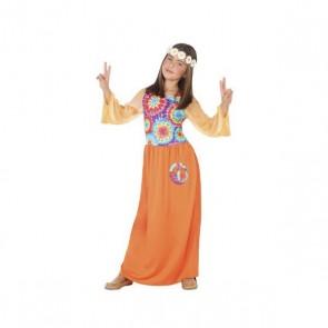 Costume per Bambini Hippie Arancio (1 Pc)