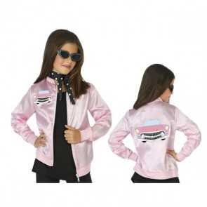 Costume per Bambini Grease Rosa (1 Pc)