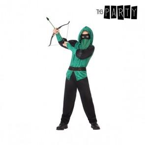 Costume per Bambini Arciere uomo Verde (5 Pcs)