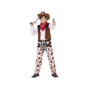 Costume per Bambini Cowboy Unisex (6 Pcs)