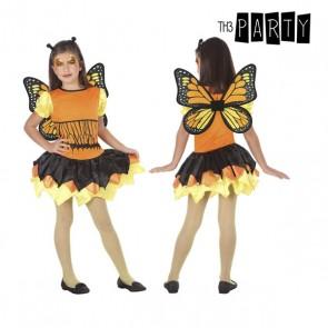 Costume per Bambini Farfalla Arancio (3 Pcs)