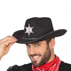 Cappello da Cowboy Nero
