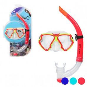 Occhialini da Snorkeling e Boccaglio Adulti Pvc 117560