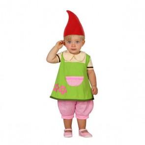 Costume per Neonati 112889 Gnomo Verde (3 Pcs)