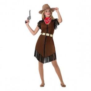 Costume per Bambini 115972 Cowboy donna (Taglia 14-16 ann)