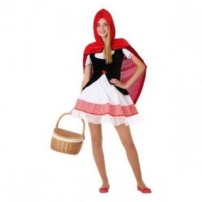 Costume per Bambini 116177 Cappuccetto rosso (Taglia 14-16 ann)