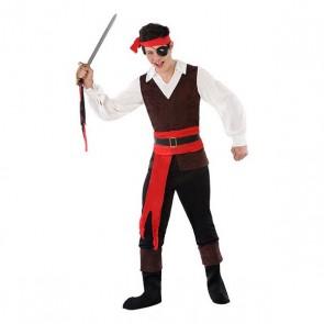 Costume per Bambini 116214 Pirata (Taglia 14-16 ann)