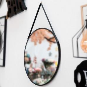 Specchio da parete Nero 111836