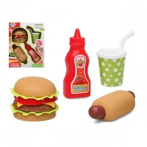 Set di Alimenti Fast Food 112895