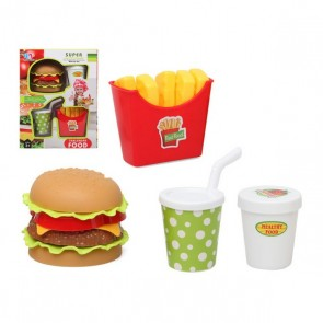 Set di Alimenti Fast Food