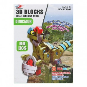 Puzzle 3D Dinosauro 113267 (60 Pcs)