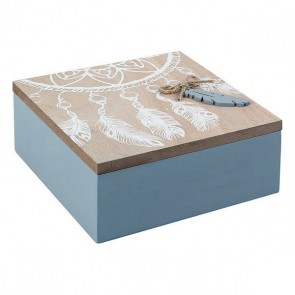 Scatola Decorativa 114073 (15 x 6 x 15 cm)