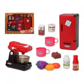 Set da Cucina Rosso 118651