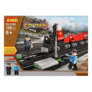 Gioco di Costruzioni con Blocchi City Train 119818 (158 pcs)