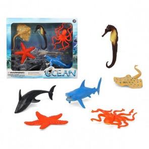 Set 6 Animali Selvaggi Ocean 110364