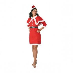 Costume per Adulti 115727 Mamma natale Rosso