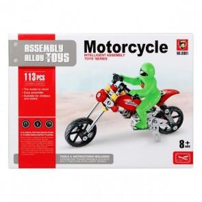 Set di Costruzioni Motocicletta 117585 (113 Pcs)