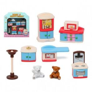 Accessori per Casa delle Bambole Happy Family Kitchen