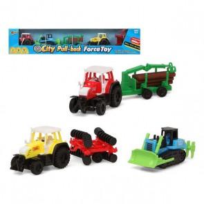 Playset di Veicoli Tractor 119503 (3 pcs)