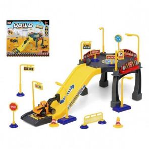 Parcheggio con Veicoli Build Construction 111346 (37 pcs)