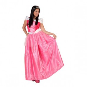 Costume per Adulti Principessa da favola Rosa (1 Pc)