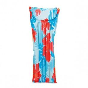 Materassino Gonfiabile Azzurro (168 X 61 x 23 cm)