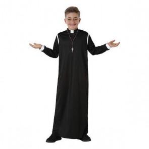 Costume per Bambini Prete Nero